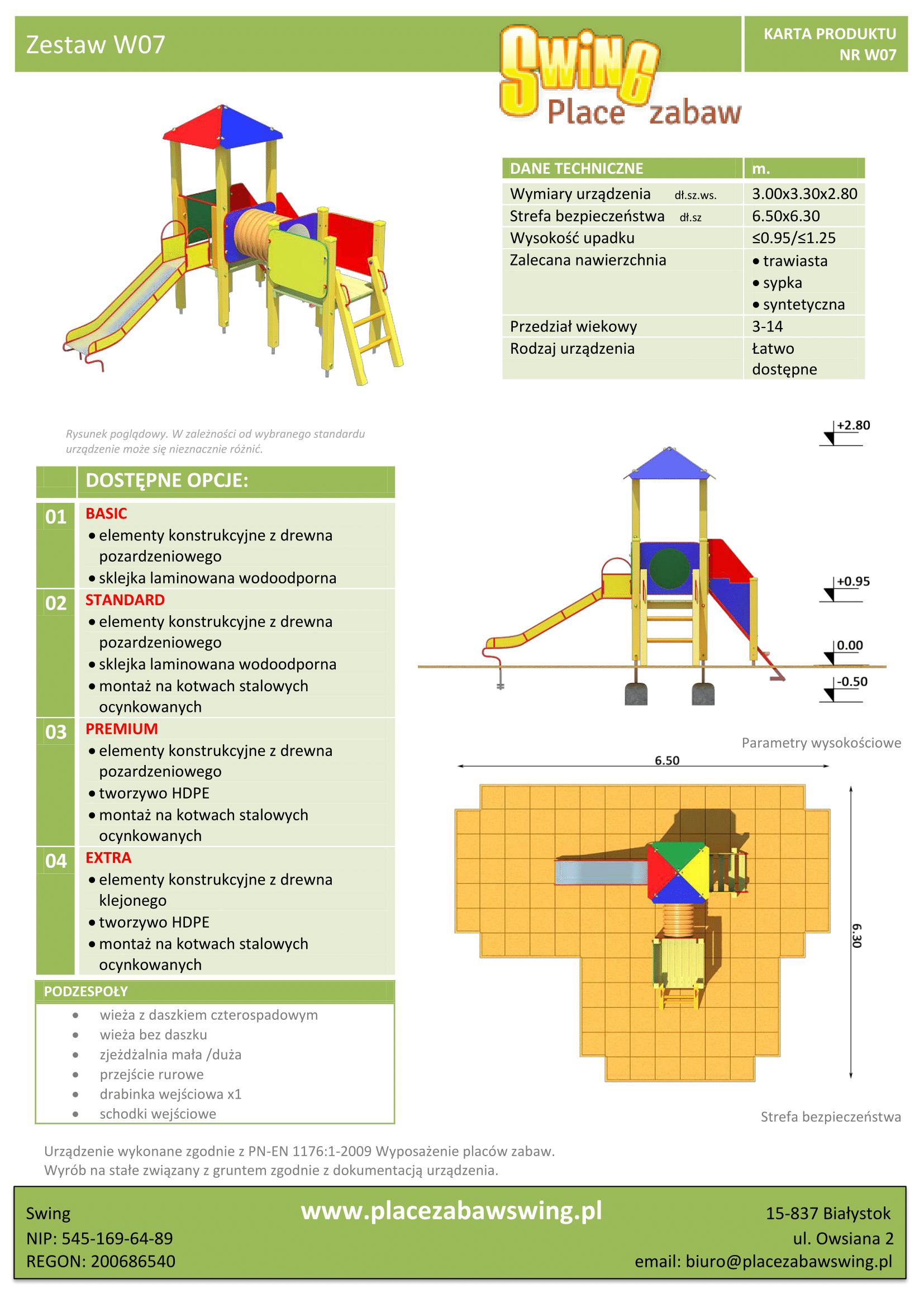 Zestaw wieżowy